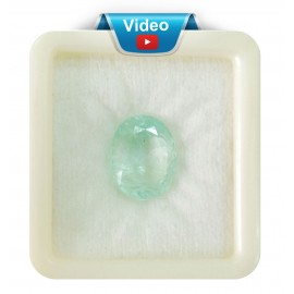Astrological Natural Emerald Stone SP 11+ 7ct