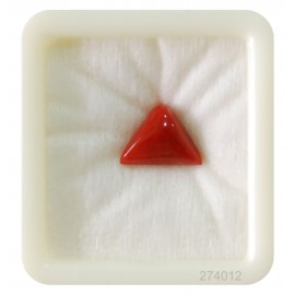Astrological Coral Triangular 5+ 3.35ct