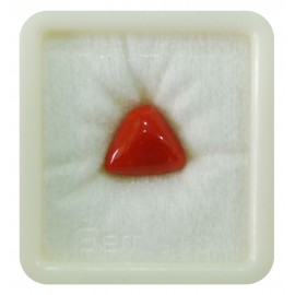 Certified Red Coral Premium 9+ 5.45ct
