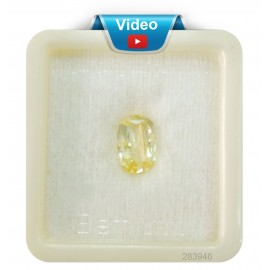 Yellow Sapphire Sup-Pre 4+ 2.65ct