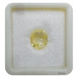 Yellow Sapphire Sup-Pre 7+ 4.25ct